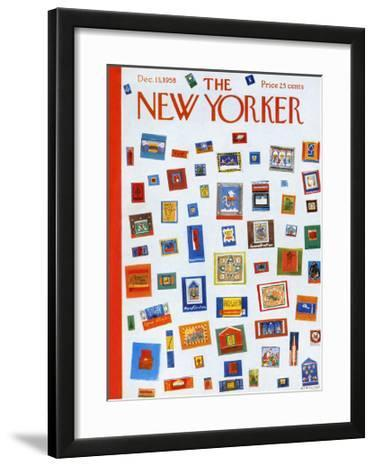 The New Yorker Cover - December 13, 1958