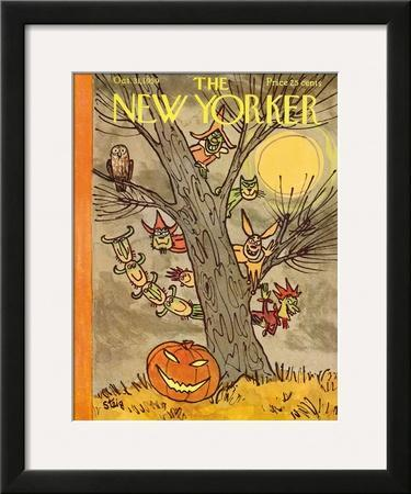 The New Yorker Cover - October 31, 1959