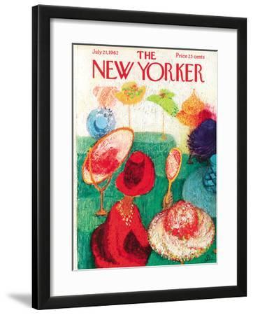 The New Yorker Cover - July 21, 1962