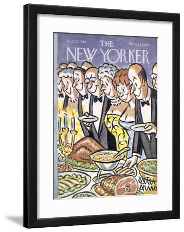 The New Yorker Cover - January 30, 1965