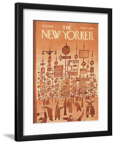 The New Yorker Cover - December 3, 1966
