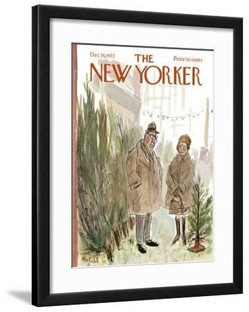 The New Yorker Cover - December 16, 1972