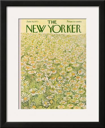 The New Yorker Cover - June 16, 1973