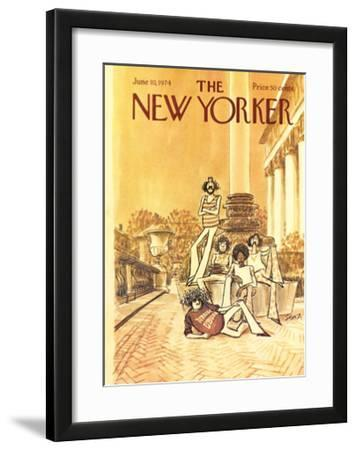 The New Yorker Cover - June 10, 1974