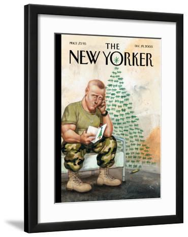 The New Yorker Cover - December 19, 2005