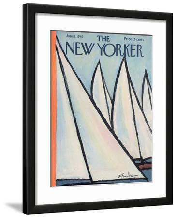 The New Yorker Cover - June 1, 1963