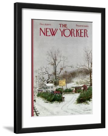 The New Yorker Cover - December 19, 1970