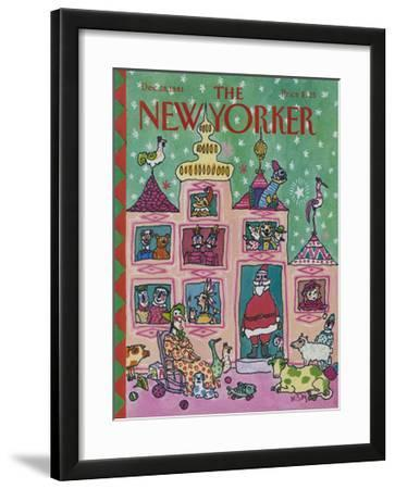 The New Yorker Cover - December 28, 1981