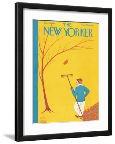 The New Yorker Cover - November 27, 1926