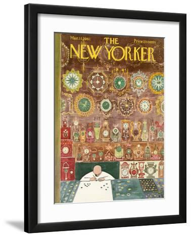 The New Yorker Cover - March 11, 1961