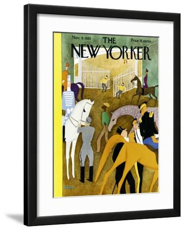 The New Yorker Cover - November 9, 1935