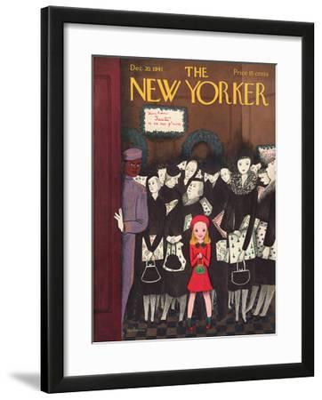 The New Yorker Cover - December 20, 1941