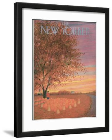 The New Yorker Cover - October 31, 1953