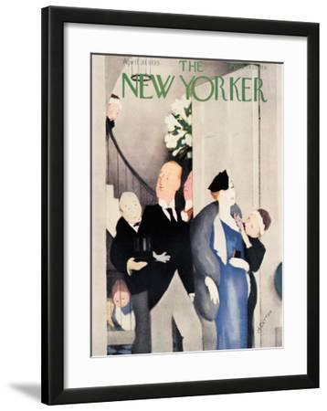 The New Yorker Cover - April 20, 1935