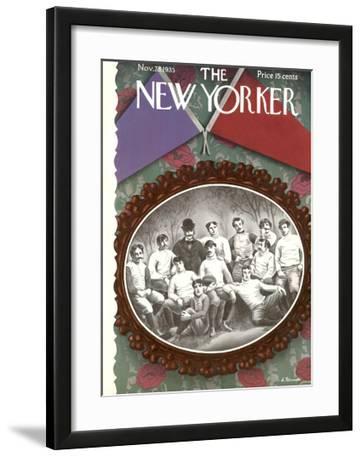 The New Yorker Cover - November 23, 1935