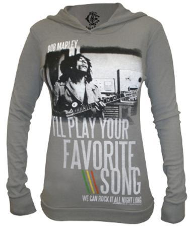 Juniors: Long Sleeve - Catch a Fire -  Favorite Song (Thermal Hooded)