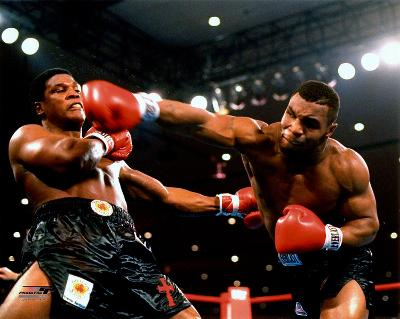 Boxing Mike Tyson 1986 Action