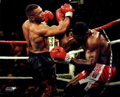 Boxing Mike Tyson 1996 Action