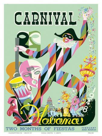 Carnival Havana: Two Months of Fiestas - Cuba c.1948