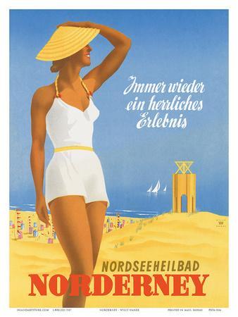 Nordseeneilbad Norderney Resort: Always a Wonderful Experience, c.1949