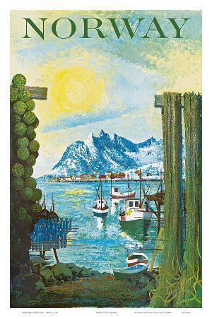 Norway: Fishing Village, c.1940s