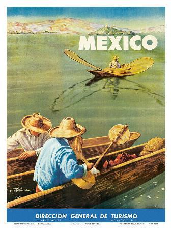 Dirección General de Turismo: Lake Chapala, Mexico c.1948