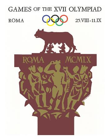 Games of the XVII Olympiad, Roma, c.1960