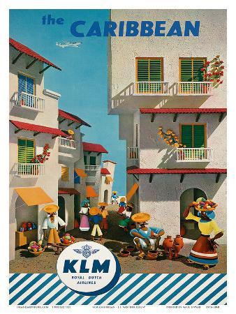 KLM Royal Dutch Airlines: The Caribbean, c.1960s