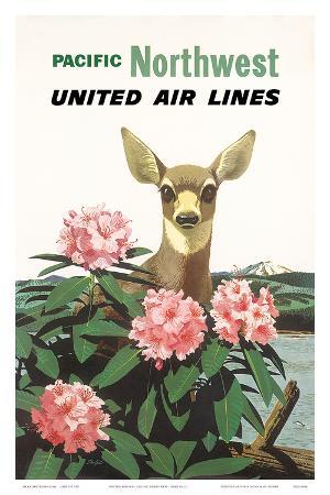 United Air Lines: Pacific Northwest, c.1960s