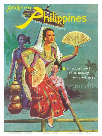 Southern Philippines: An Adventure in Color, Beauty, Rich Contrasts