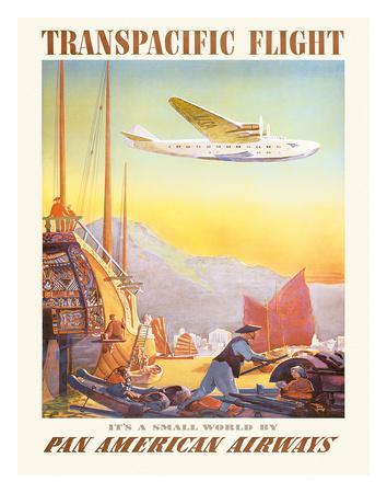 Pan American: Transpacific Flight, c.1940s
