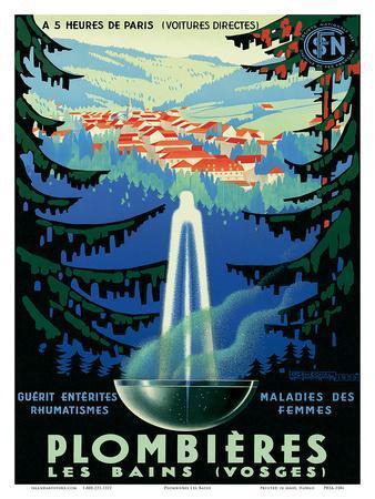Plombières-les-Bains (Vosges), France c.1939