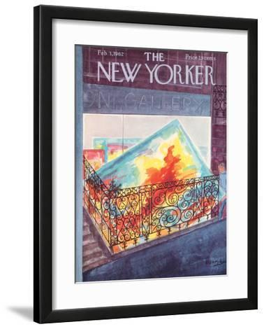 The New Yorker Cover - February 3, 1962