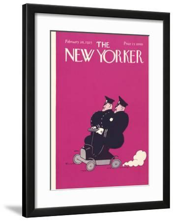 The New Yorker Cover - February 28, 1925