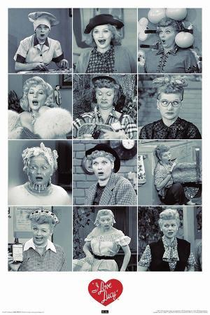 I Love Lucy Faces