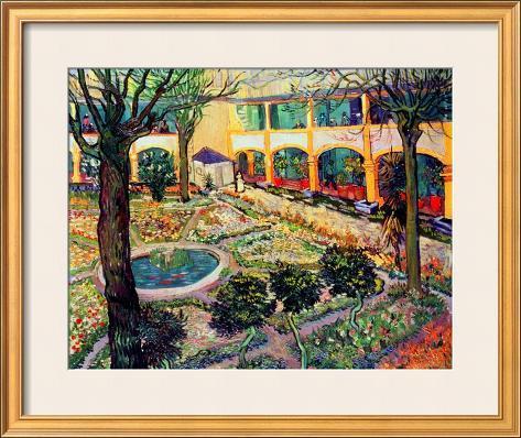 The Asylum Garden At Arles, ...