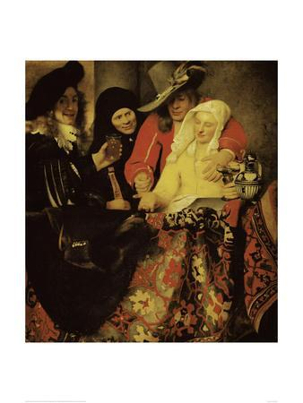 At the Procuress