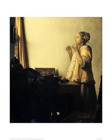 Young Lady with a Pearl Necklace