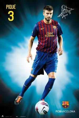 Fc Barcelona - Gerard Pique 2011/2012