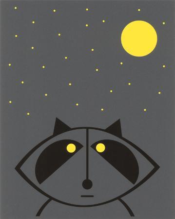 Raccoon (Glow in the Dark)
