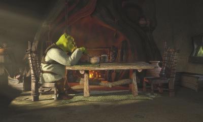 Shrek: Shrek at Dinner