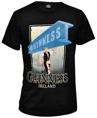Guinness - Black Distressed Strength