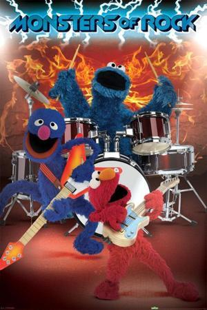 Sesame Street - Monsters of Rock