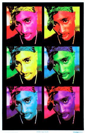 Tupac - Pop Art
