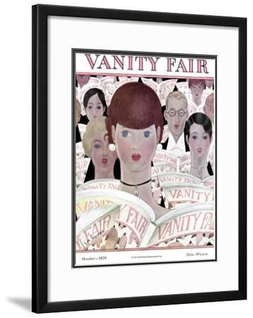 Vanity Fair Cover - October 1928
