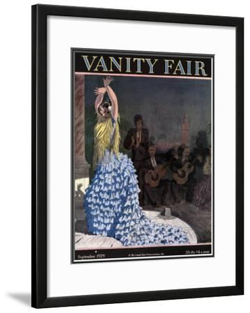 Vanity Fair Cover - September 1929
