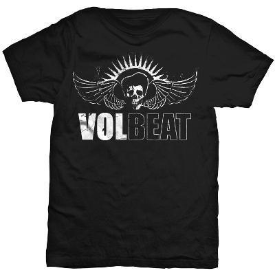 Volbeat - White Skullbeat Outline