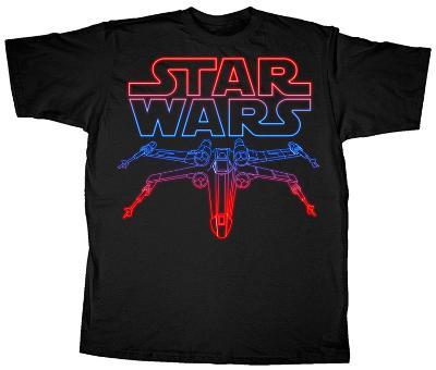 Star Wars - Neon X-Wing