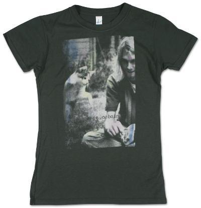 Women's: Kurt Cobain - Sepia Photo