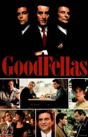 Goodfellas Movie (Group, Collage) Poster Print